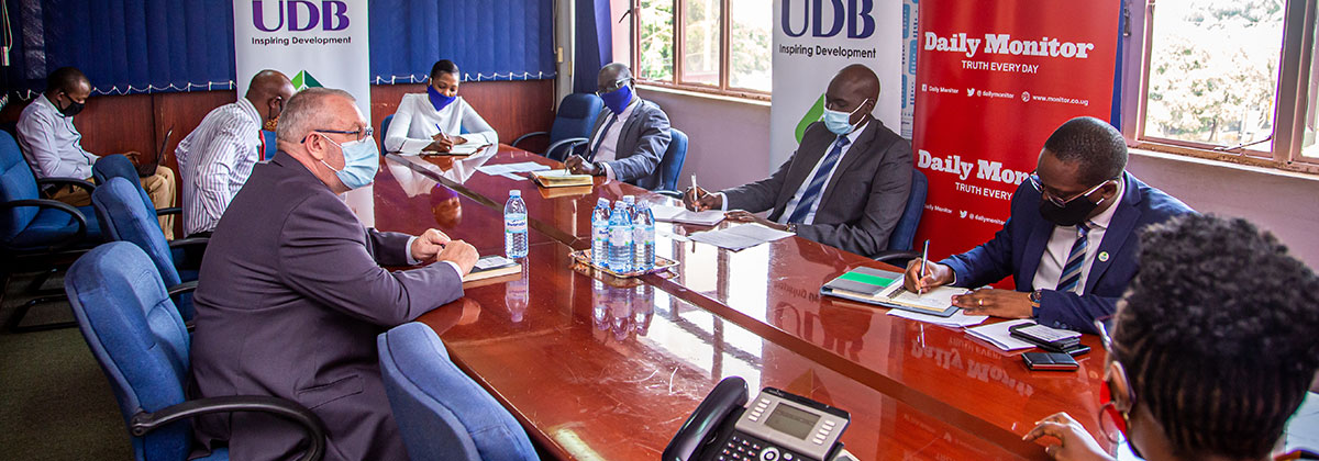 UDB Executive Committee Pays A Visit To Nation Media Group